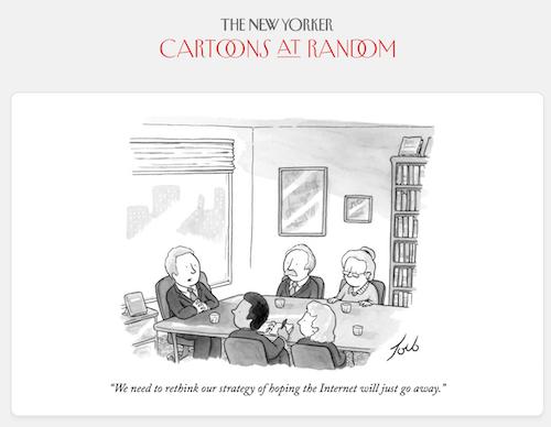 New Yorker Cartoons at Random